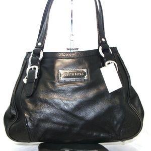 Judith Ripka Nappa Leather Satchel Bag Purse NWT